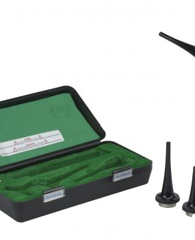 Gowllands otoscope set, halogen